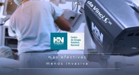 Centro de Cirugía Robotica DaVinci