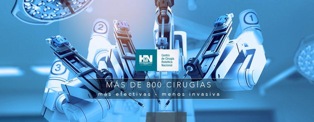 Centro de Cirugía Robótica DaVinci