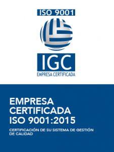 Empresa Certificada