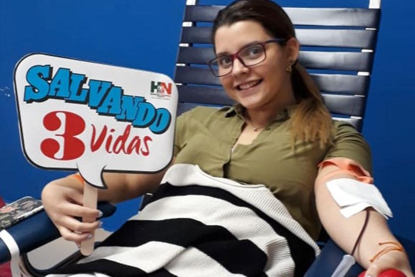 Donación de Sangre en Universidad Latina