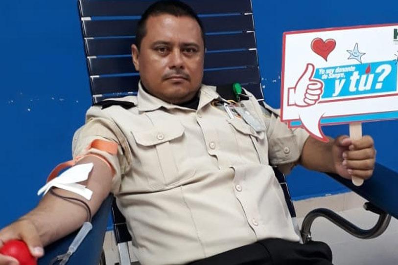 Dona Sangre Salva una vida