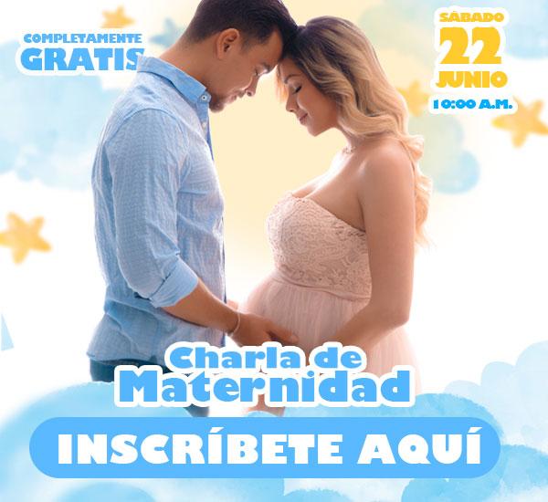 Charla de Maternidad 22 de junio
