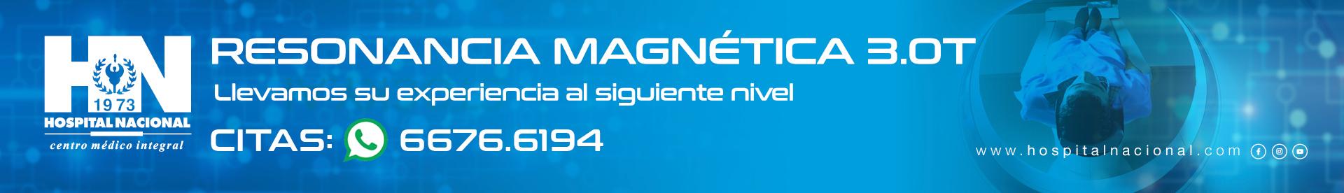 Nueva Resonancia Magnética 3.0T de Hospital Nacional